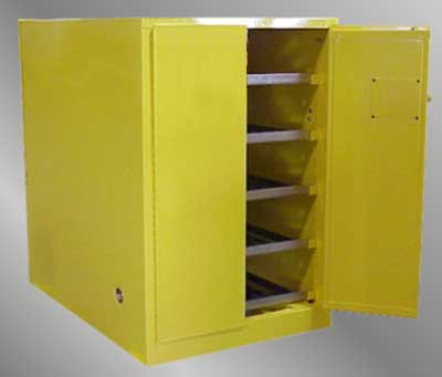 8 Cylinder Portable Oxygen Storage Cabinets